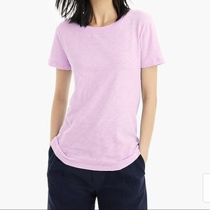 J.Crew Vintage Cotton Tee Purple